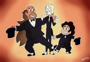 The Mr. Greg Trio by Sylverstone14