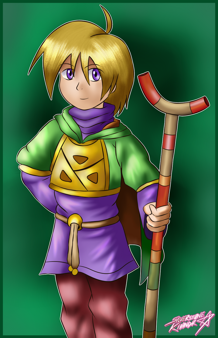 [Commission] Ivan from Golden Sun by Sylverstone14