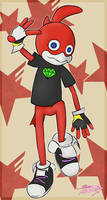 Vee-Demon, for AjentVee [Sonic Forces] by Sylverstone14