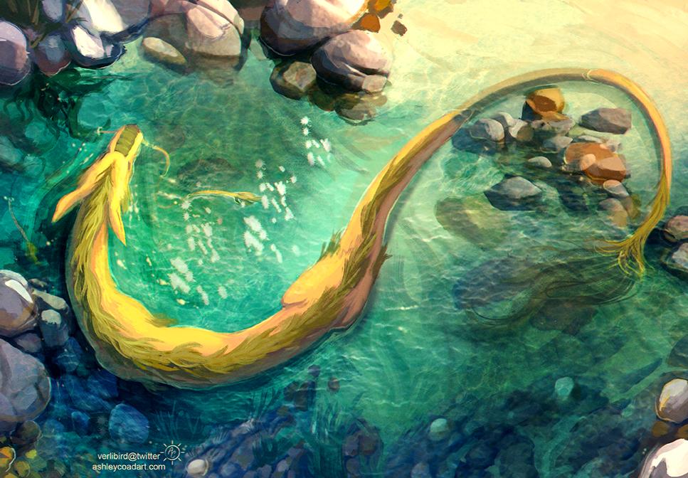 Lagoon by Verlidaine