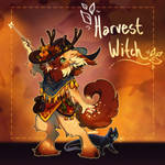 Hallowoolyne Auction: Harvest Witch! (CLOSED)