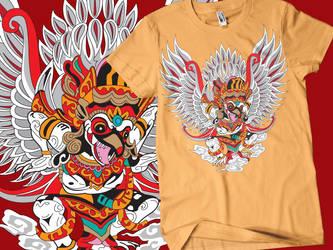 Garuda wisnu kencana by MAGOTZCORE