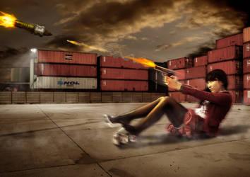 Suicide girl by MAGOTZCORE