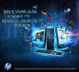 HP Z400 advetorial