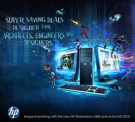 HP Z400 advetorial by MAGOTZCORE
