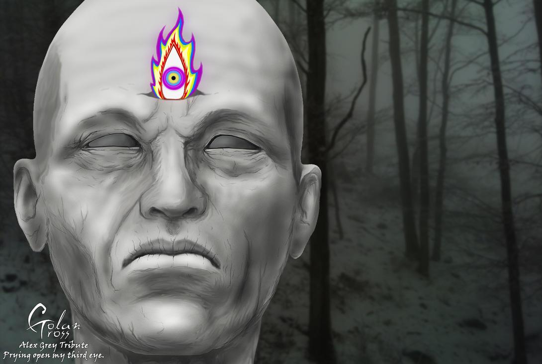 Prying Open My Third Eye by Ghj