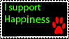 I support happiness by Amersill