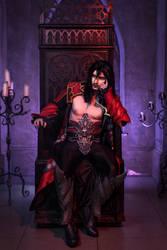 Bored vampire by DarielZerenski