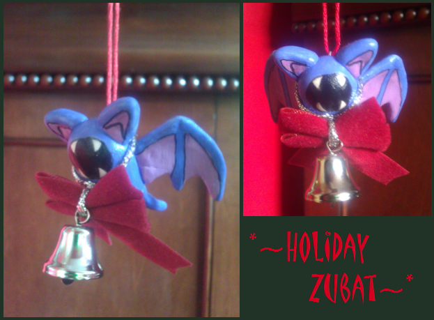 Holiday Zubat '12 by LaPopeArmadillo