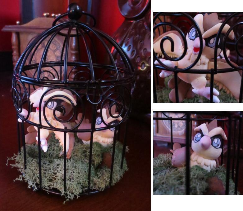 Caged Pidgey by LaPopeArmadillo