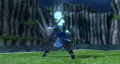 Dragon Ball Xenoverse 2: Amunet by SilentNamekian