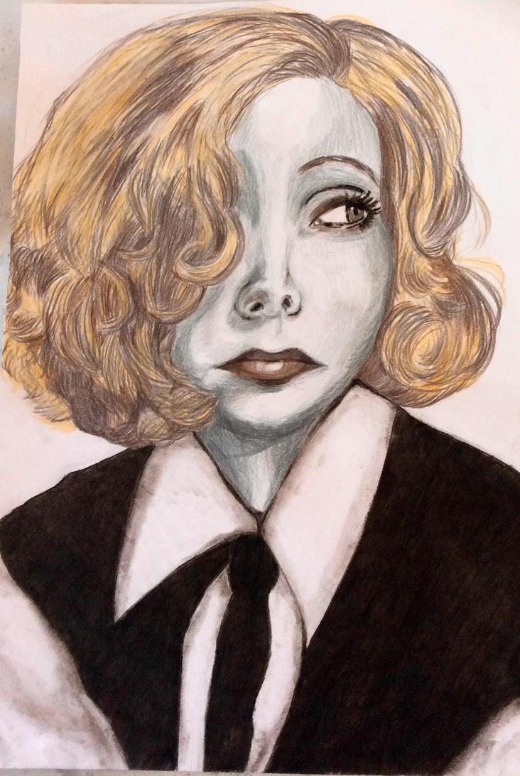 Greta Garbo Popart by CandraRose