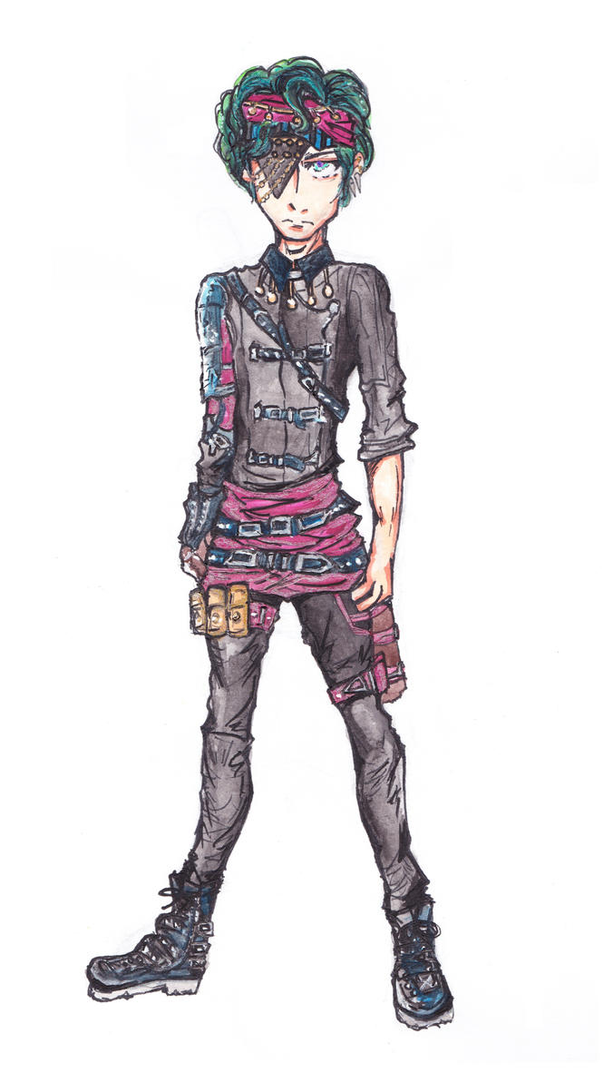 Fen outfit design by CandraRose