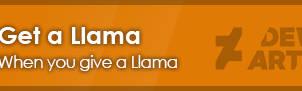 Give Llama - Get Llama [Emblem]