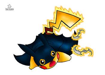 Batchu - Pikachu Batman Cosplay by StarlitEspresso