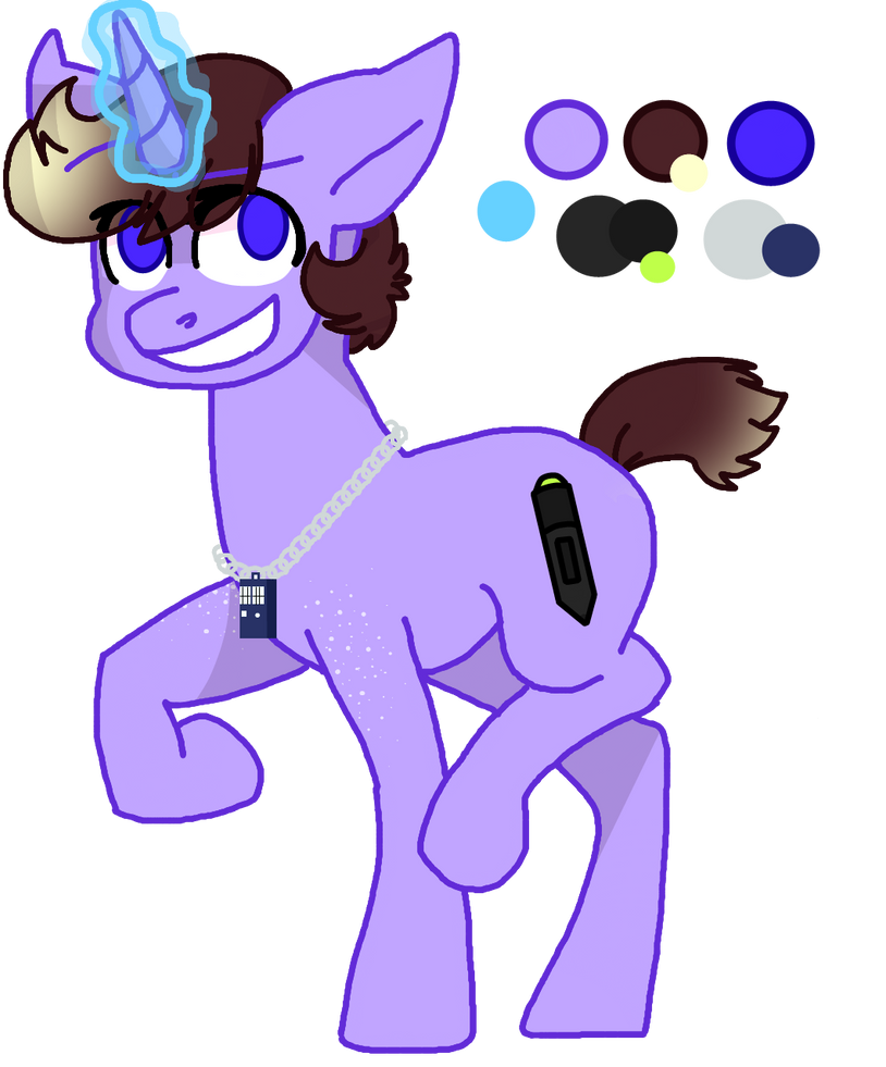 A wild pony-sona appeared! by Jaycee9325