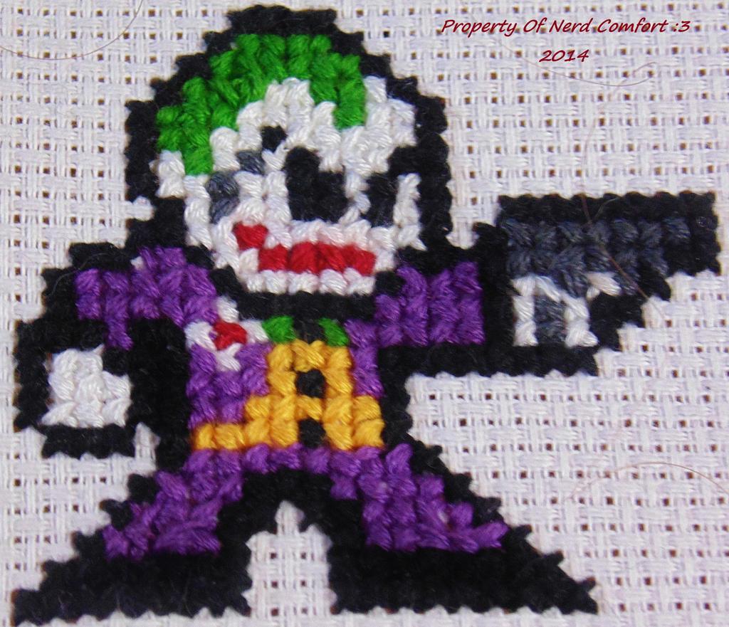 Nerd Comfort: DC Joker Patch by Kristina-Henderson