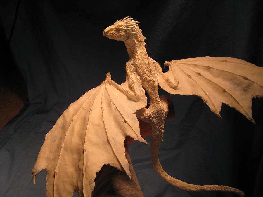 Rhaegal Daenerys Commission Primered version v 2 by RavendarkCreations