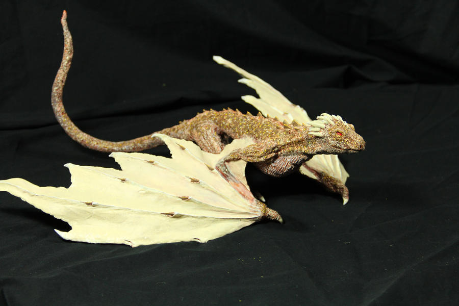 Dragon Hatchling Resin Kit 3 Viserion by RavendarkCreations