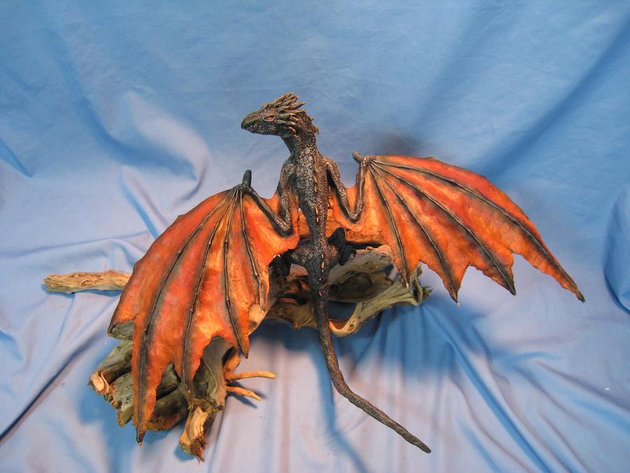 Dragon Hatchlings Resin Kit 2 in Drogon colors by RavendarkCreations