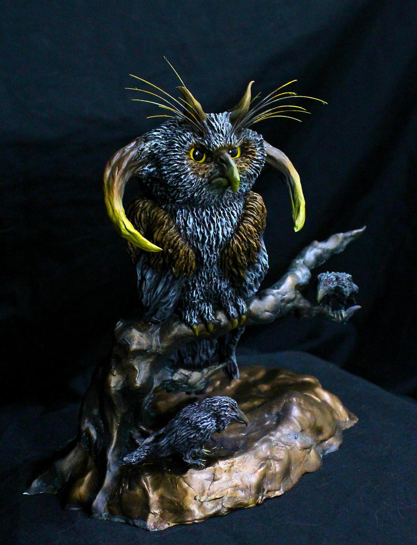 World Tree Owl final 3 by RavendarkCreations