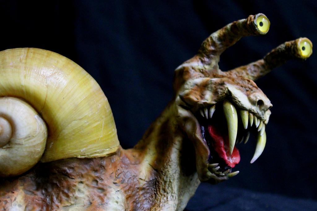 Saber Tooth Snail 2 by RavendarkCreations