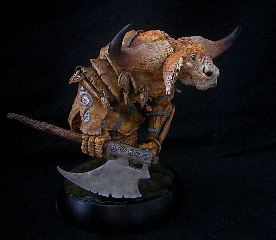 Paul Bonner Minotaur Finished 3 by RavendarkCreations