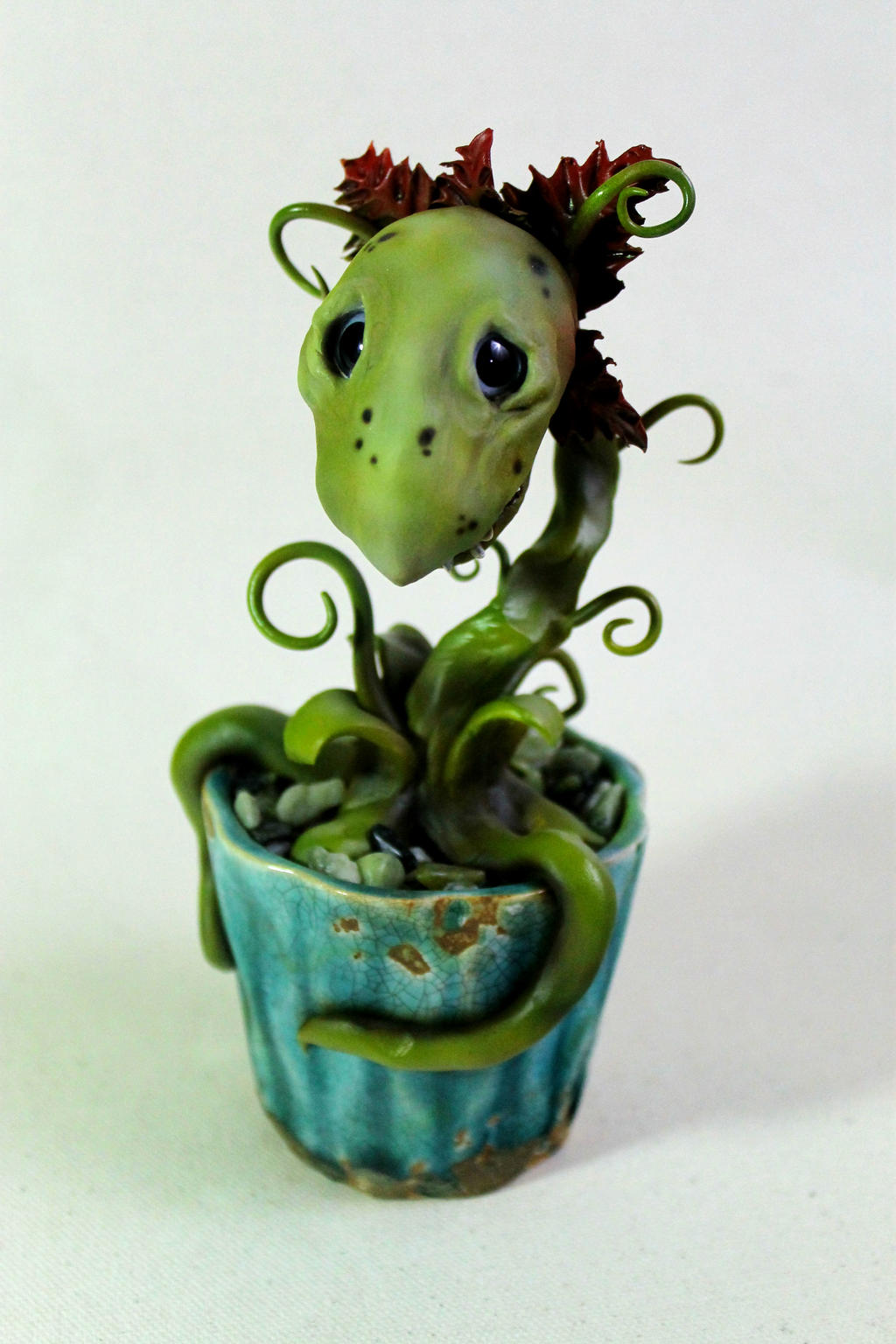 Carnivorous plant monster venus fly trap by for Plante carnivore 01