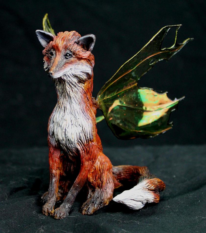 Fox Faery by RavendarkCreations