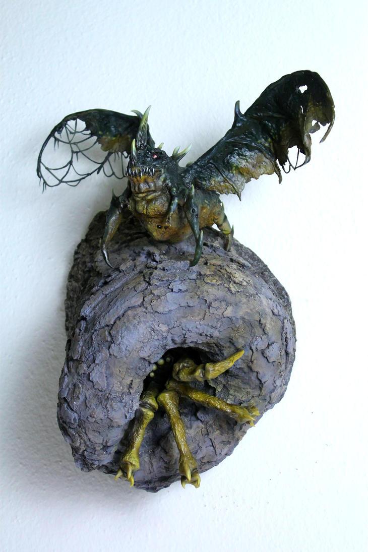 Villoingt Demon and Friend by RavendarkCreations