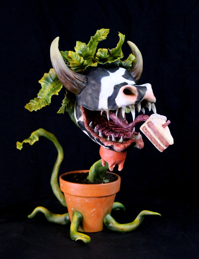 Sims Cowplant Monster by RavendarkCreations