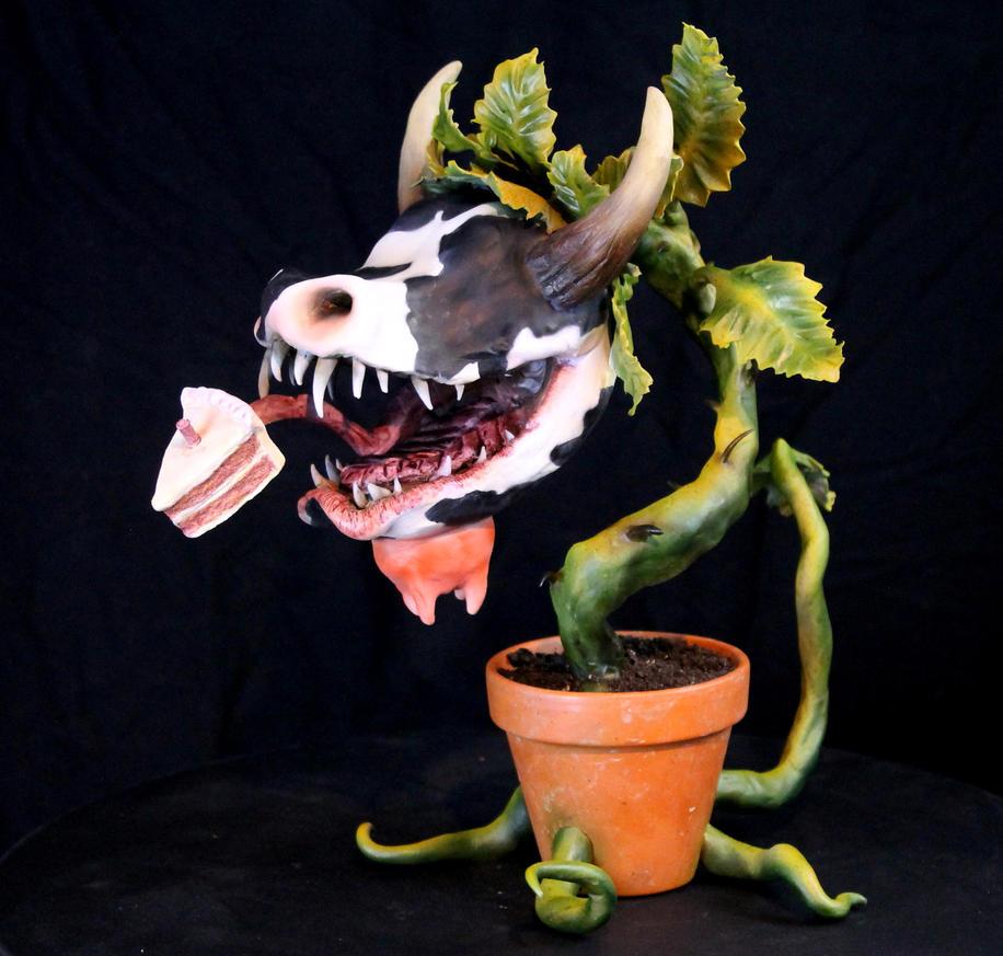 Sims Cowplant Monster 2 by RavendarkCreations
