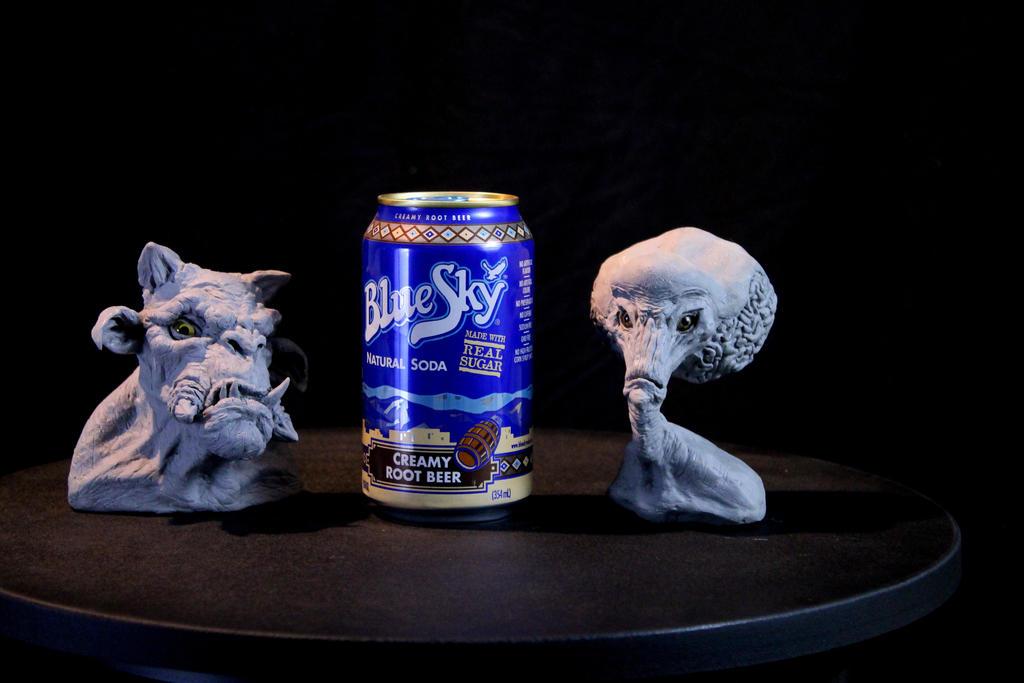 Alien and Troll Mini Busts by RavendarkCreations