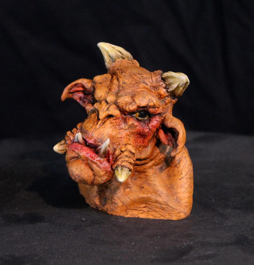 Ogre Troll Mini-Bust 1 by RavendarkCreations