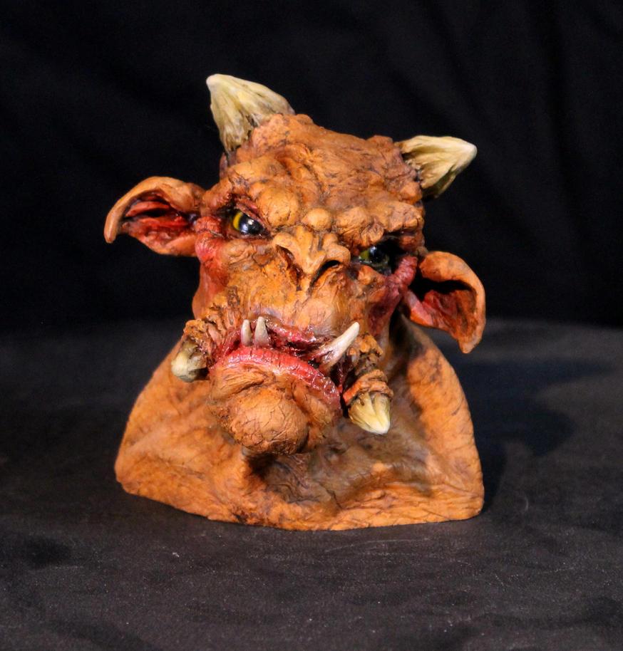 Ogre Troll Mini-Bust 2 by RavendarkCreations