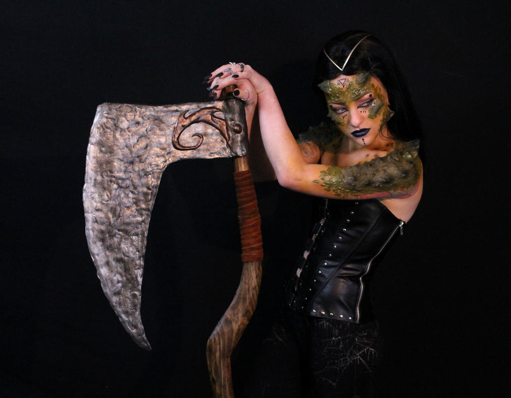 Dragon Queen Prosthetics on @maia_rayn by RavendarkCreations