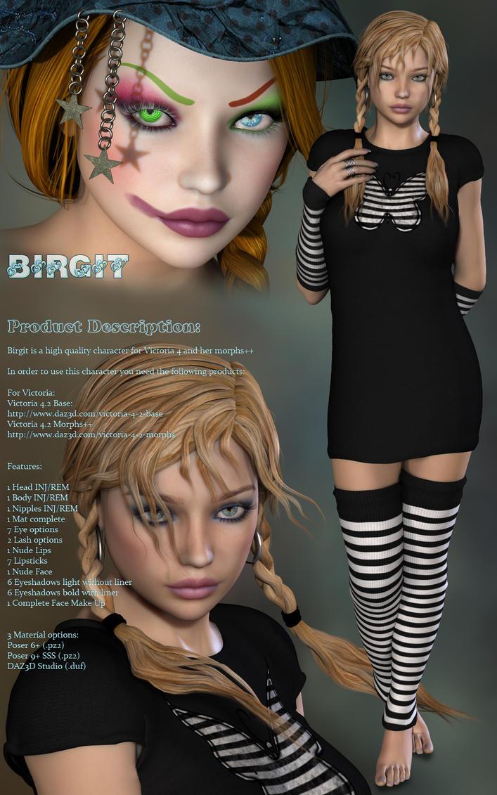 P3D Birgit by P3DesignPromotions