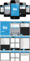 Behance Network iPhone app