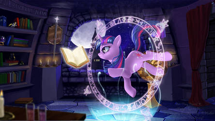 Twilight Sparkles so much! by CountCarbon