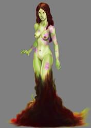 Acid goddess concept by CountCarbon