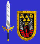 Magic sword and shield