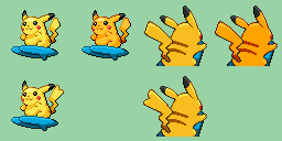 Best Nature For Surf Pikachu