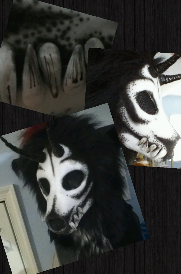 Skull wolf mask by DragonGames on DeviantArt
