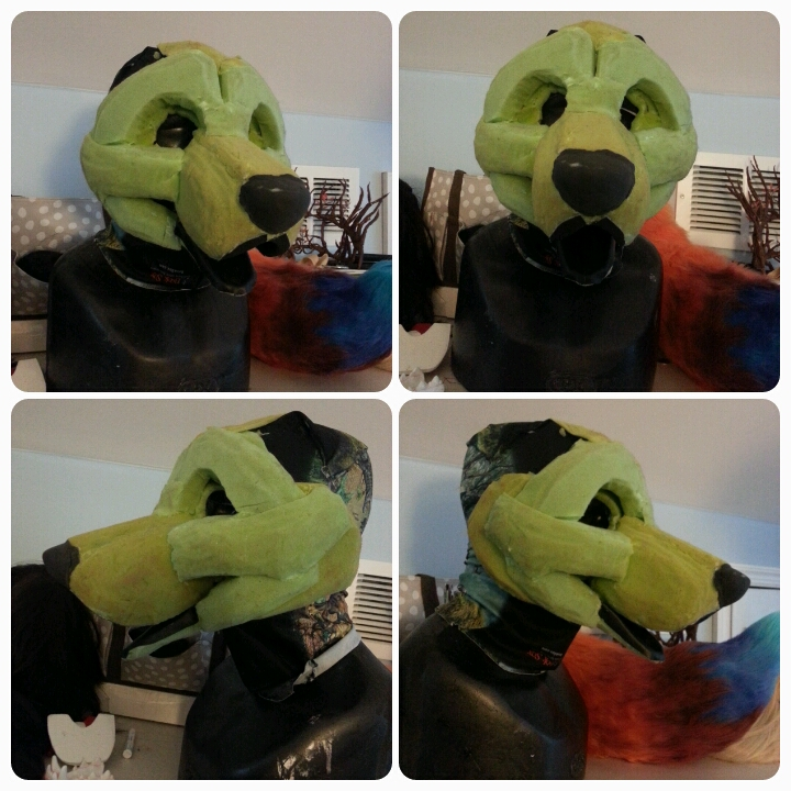 Toony Canine Fursuit Base For Sale by DragonGames