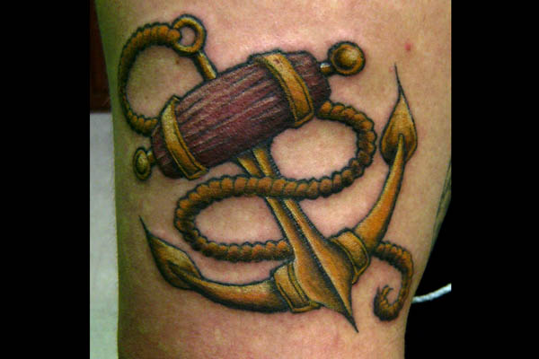 Anchor Tattoo by MuddyGreen