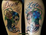 Life Death Tattoo