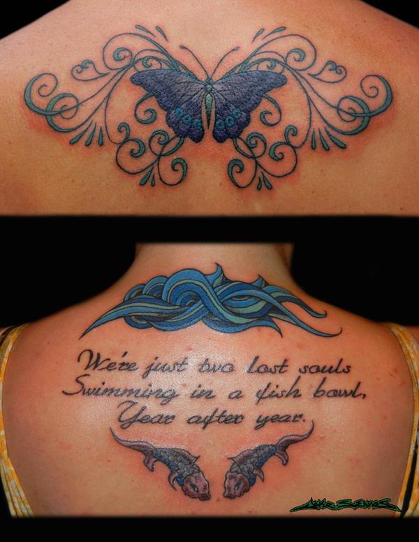 Back Tattoo Collage 1 By Muddygreen On Deviantart