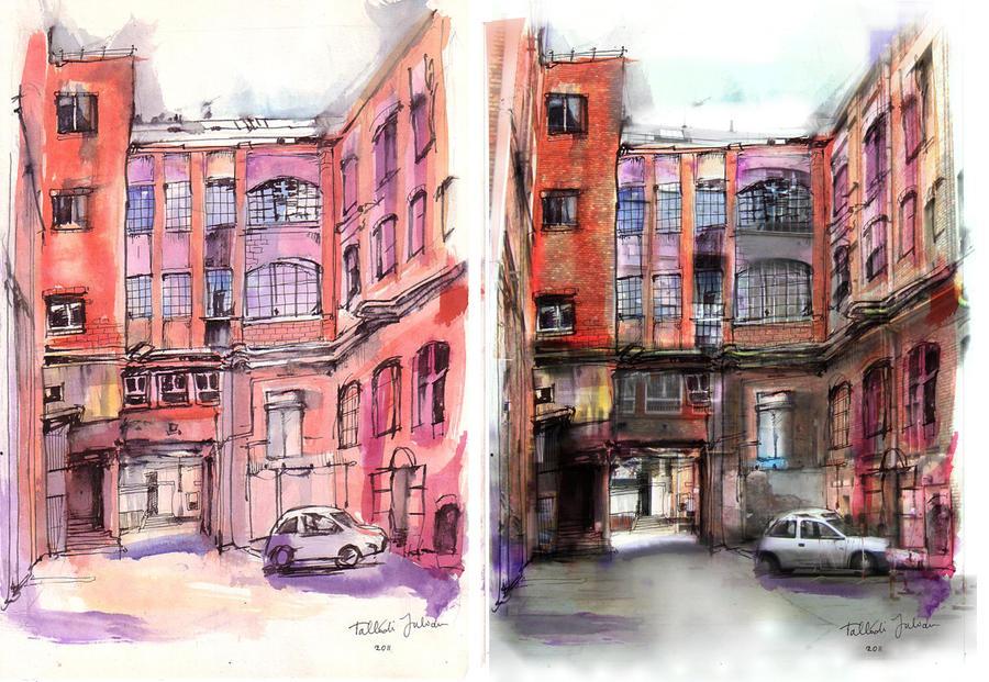 Industrial Street by yoolchie