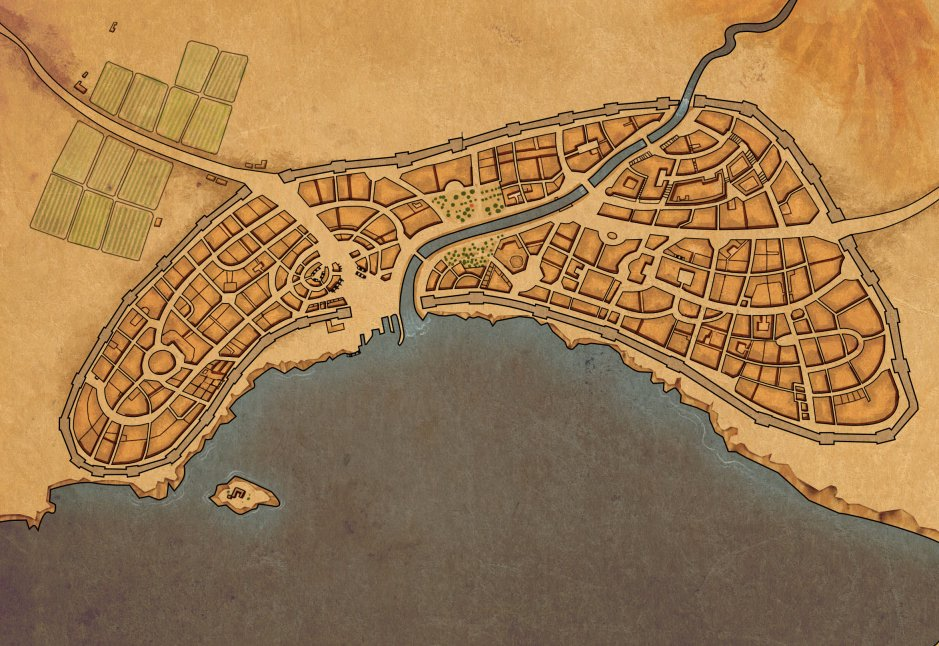 City map for WIGO by yoolchie