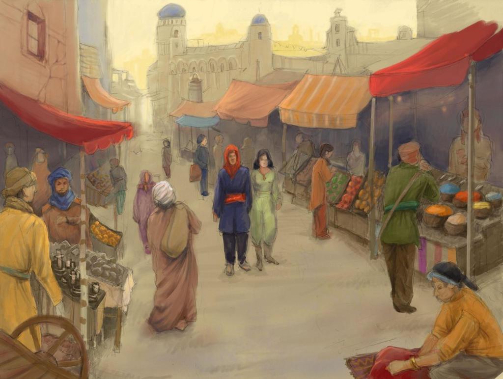 Azur Market for WIGO by yoolchie